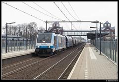 RTB 186 110 - 40704 (Spoorpunt.nl) Tags: station magazine 1 110 rail 186 trein maart rm 2014 helmond rtb locomotief graan brandevoort 40704 rurtalbahn