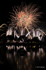 Over the trees (ddindy) Tags: orlando epcot florida fireworks illuminations disney disneyworld waltdisneyworld