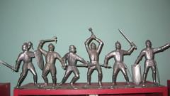 Marx Knights (Donald Deveau) Tags: toys knights marx vintagetoy
