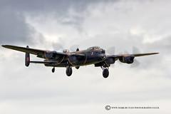 THUMPER! (mark_rutley) Tags: vintage aircraft aviation air hurricane wwii airshow worldwarii lancaster spitfire airforce bomber raf worldwar2 riat airdisplay battleofbritainmemorialflight raffairford bbmf riat2014
