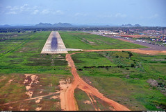 """juba airport  runway • <a style=""""font-size:0.8em;"""" href=""""http://www.flickr.com/photos/62781643@N08/14663518889/"""" target=""""_blank"""">View on Flickr</a>"""