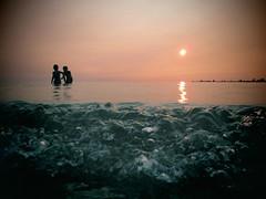 summer evening (sonyacita) Tags: sunset ontario beach southampton shotfromlow