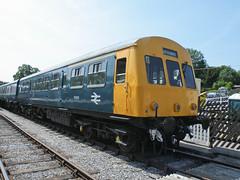 51505 Ecclesbourne Valley Railway 160713 (Dan86401) Tags: br firstgeneration dmu 51505 evr dieselmultipleunit metrocammell class101 ecclesbournevalleyrailway dmcl metcam drivingmotorcompositelavatory