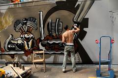 action (wojofoto) Tags: action amsterdam graffiti wojofoto roest vangendthallen nederland netherland holland wolfgangjosten