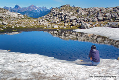 Wonder (Gary Grossman) Tags: wonder landscape washington meditate appreciation cascades contemplation snowmelt artistspoint mountbakersnoqualmienationalforest