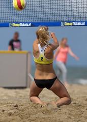 P8151555 (roel.ubels) Tags: beach sport scheveningen denhaag beachvolleyball volleyball thehague volleybal nk 2014 beachvolleybal nevobo