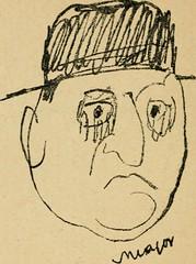 """Image from page 55 of """"Panoptikuma : irók és hirlapirók karrikaturái"""" (1913)"""