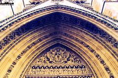 Westminster Abbey (London in my lens) Tags: travel summer art church westminster abbey europe arch fineart londres londra cityoflondon londen lontoo  londyn llundain londn     londona londain abbeychurch londonas    londr          londinensi   westminstersq