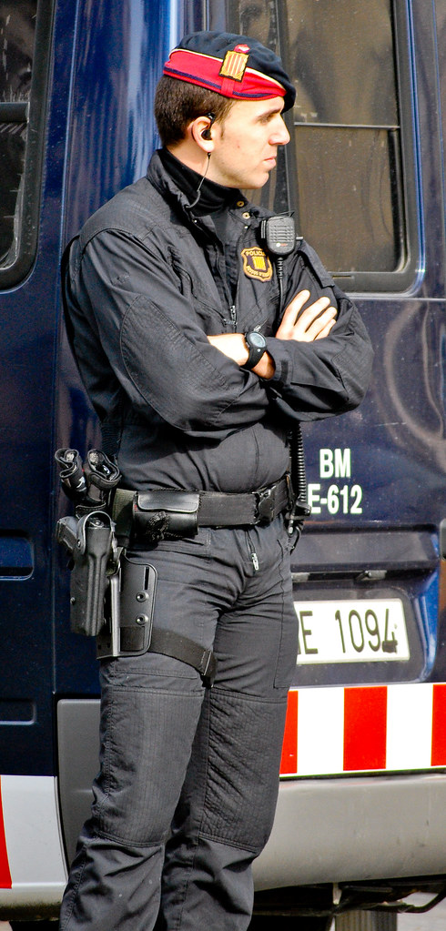 Real police male hunk gay my fucking 9
