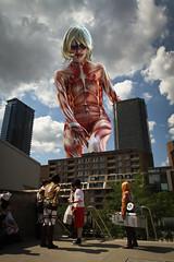 Attack on Titan (Otakuthon 2014 Montreal) (Mac-xime Perreault) Tags: cosplay manga otaku otakuthon attackontitan