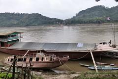 234 Maybe Luang Prabang (farfalleetrincee) Tags: travel tourism nature river landscape boat asia southeastasia adventure guide piper laos mekong luangprabang