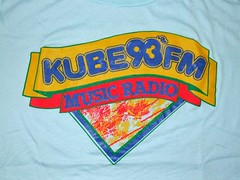 KUBE 93FM's 1980's Logo 003 (BuggyBug2010) Tags: brown white brad truck michael casey eric beck o mark mary case tommy charlie ty buchanan barry bobby hart michele powers spencer rodgers edwards tiffany flint shea shellie chet tyrone 933 warners kube kasem powertothepeople 93fm grosenick hutyler