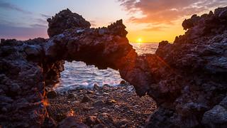 Lava Arch Sunset (refix)