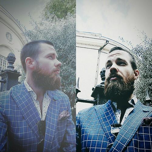 Veckans #skäggtorsdag blev en duo :) #skäggbild #skäggprofilbild #skäggmys #skäggporr #skägg #beard #beardedgentleman #beardporn @swedishbeards