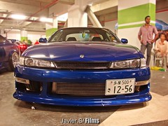 Japan Silvia Father. (Javier.S / Films & Photography.) Tags: street blue night race speed nissan power dominicanrepublic low silvia meet hel stance sr20 hellaflush lowslow simplyclean xxrwheels thedominicanfinest