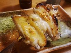 Chiken Wings Yakitori @Torishige, Shimbashi, Tokyo (Phreddie) Tags: trip friends food chicken japan dinner japanese restaurant tokyo yum drink delicious eat yakitori biz skewer shimbashi torishige 140828東京出張