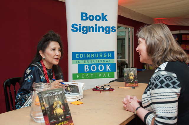 Jung Chang book signing