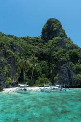 Hidden Beach (#albamoral) Tags: beach boat paradise philippines hiddenbeach filipinas elnido palawan bacuitislands