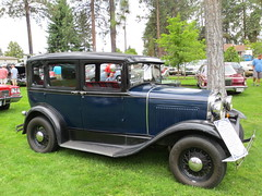 Model A Ford (1930) (jamica1) Tags: auto show canada car vintage automobile bc antique okanagan columbia british kelowna rutland