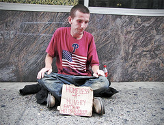 Tommy (Charlie O'Hay) Tags: poverty philadelphia centercity homeless philly panhandling homelessness everyonehasaname