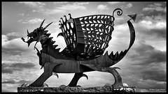 Draig... (bevscwelsh) Tags: dragon beacon flintshire draig northwales bettisfield olympus1250 olympusem5 walescoastalpath