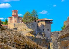 Moni Varlaam (Photo_hobbyist) Tags: travel church nikon rocks religion ngc greece monastery christianity moni traveling orthodox vacations meteora kalampaka trikala varlaam thessalia d5200