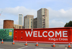 King's Cross, London (SE9 London) Tags: uk england london saint st architecture construction cross britain camden united great central kingdom kings londres gb pancras regeneration kx redevelopment londyn kxc n1c