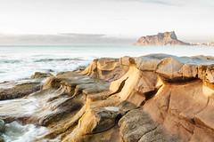 BW chispa (chispa.fr) Tags: naturaleza mar piedra amanacer calabaladrar aguaceda