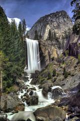 Yosemite-Vernal-Falls (drewnelsonphotography) Tags: california waterfall nikon yosemite yosemitenationalpark vernalfalls leebigstopper