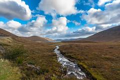 Pleasant valley near Luib - Isle of Skye, Scotland (Paul Diming) Tags: 2012natureconservancy a87 fall greatbritain highland isleofskye landscape luib pauldiming photocontesttnc12 scotland skye uk unitedkingdom clouds stream