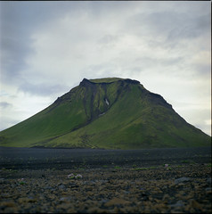 Déconfiture (cyv2) Tags: 120 iceland ísland islande emstrur yashicamat124 hattfell