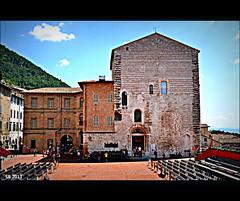 Palazzo Pretorio (Gubbio) (STEVE BEST ONE) Tags: street travel urban italy nikon italia palace exploration palazzo middleages umbria medioevo gubbio 2011 pretorio d3100