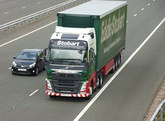 H4008 - KR63 EGC (Cammies Transport Photography) Tags: truck volvo claire lorry eddie eleanor fh flyover esl m74 lockerbie stobart h4008 kr63egc