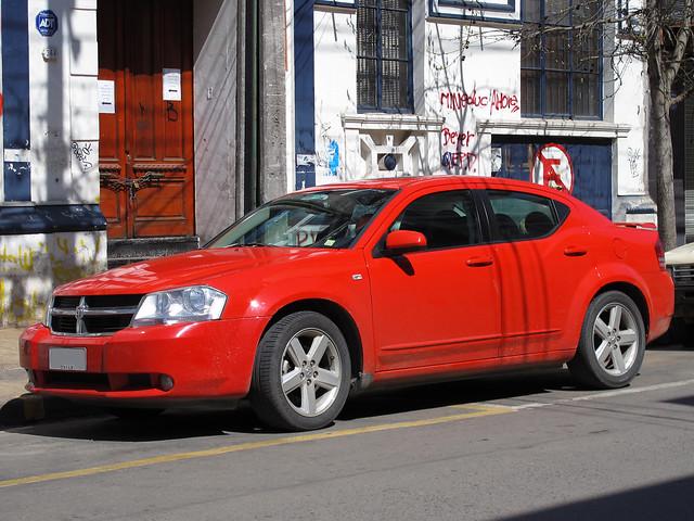 diesel dodge avenger crd redcars sxt avengersxt
