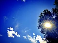 Under fair skies atop fresh tires. (RichTatum) Tags: travel blue sky nature minnesota moving rich roadtrip relocation iphone tatum eastward skyporn blogrodent richtatum iphoneography