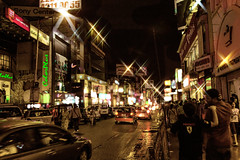 Brigade Road, bangalore. (Joyman Xavio) Tags: nightphotography night photography lights bangalore streetphotography rushhour brigaderoad hussle bangalorestreet