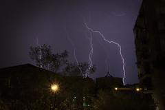 Storm on Casal Bernocchi II (paoloricciotti) Tags: storm roma canon photography eos photo foto lightning fotografia digitalphotography fulmini 100d fotografiadigitale casalbernocchi fotografiitaliani canoneos100d casalberocchi