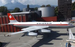 HB-ICC Convair 990 Lucerne 07-09-14