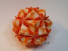 Origami Sonobe by Maria Sinayskaya (esli24) Tags: origami kusudama origamisonobe mariasinayskaya esli24 ilsez