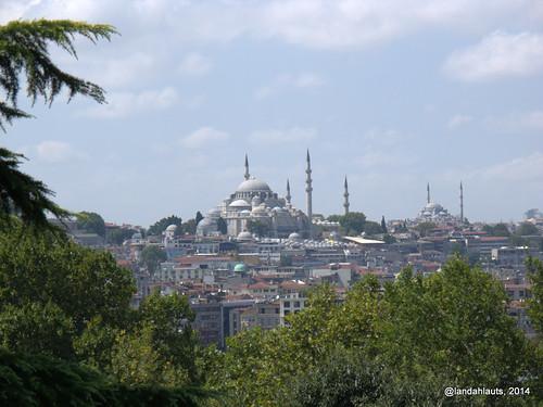 Estambul desde el Palacio de Topkapi (Topkapı Sarayı)