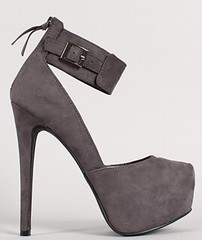 "suede-buckle-cuff-almond-toeplatform-pump-gray • <a style=""font-size:0.8em;"" href=""http://www.flickr.com/photos/64360322@N06/15282363825/"" target=""_blank"">View on Flickr</a>"