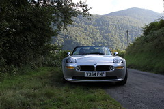 BMW Z8 Pyrenees Mountains, France (Rev426) Tags: world road uk trip 2002 red orange usa white holiday france mountains sports car yellow lunch grey mercedes drive james evening town is nikon europe tour secret convertible super ferrari 1999 monaco exotic mclaren bmw bond service spotted dashboard lamborghini scuderia enough v8 lfa pyrenees v10 007 mp4 amg noble lexus maranello f430 d800 v12 z8 fmp m600 c63 silevr laferrari aventador mp412c v354 sb910 v354fmp