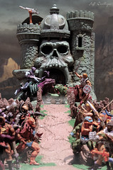 The War Has Begun (Toy Photography Addict) Tags: toys matty actionfigures motu mattel heman skeletor eternia mastersoftheuniverse toyphotography castlegrayskull matteltoys mattycollector mastersoftheuniverseclassics motuc dcentertainment clarkent78 jeffquillope toyphotographyaddict hemandiorama motucdiorama motucover