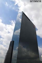 Skyscraper Delfste Poort in Rotterdam (dutchmetal) Tags: city sky urban glass architecture skyscraper rotterdam highrise delftsepoort hoogbouw