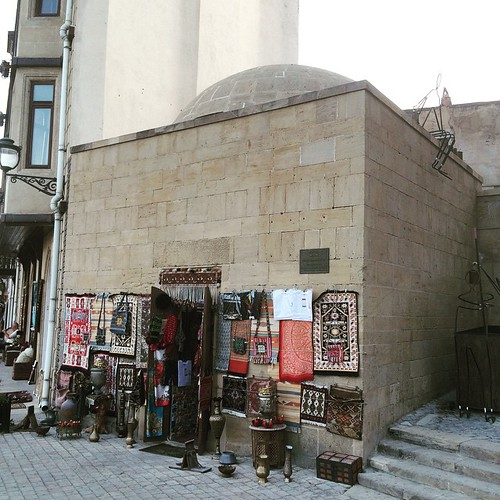 Amazing 16th Century Medrassa turned into a shop #Baku