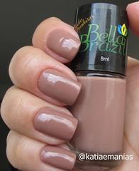 Ana (Bella  Brazil) (katiaemanias) Tags: esmalte esmaltes bella brazil bellabrazil nude cremoso katiaemanias