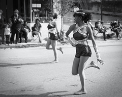St-Charles-Avenue (Ray Devlin) Tags: carnival fat tuesday big easy louisiana uptown stcharlesavenue st charles stcharles black white majorette high school marching band marchingband southerntradition southern tradition culture