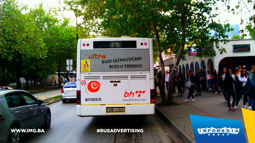 Info Media Group - BH Telecom Ultra, BUS Outdoor Advertising, 09-2016 (6)