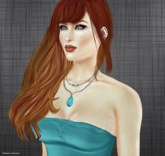 Redhead Beauty (rebeccaolivieri) Tags: secondlife secondlifephotos alittlemoreofme redhead justme justonemoreday justbecause catwa maitreya belleza sltrendystyle