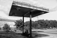 No Gas! (NoahKnight) Tags: cheapgas gasstation gas cheap abandon abandonstructure outofbusiness out outofgas